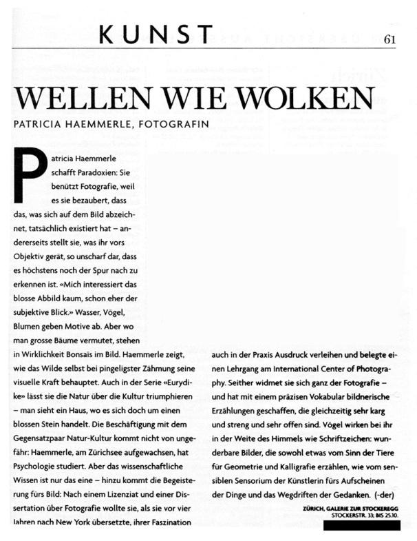 Zueritipp 2001 - Schneider