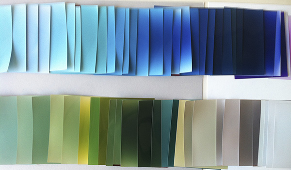 monochromes-some blues+greens